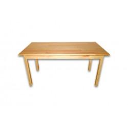 81113 Стол детский прямоугольный из натуральной древесины.  Размер - 1200 * 600