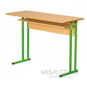 0128 Стол лабораторный химический с пластиковой столешницей №6 1200х600х760