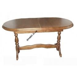 Стол раскладной овальный 1500 (1900) х800х77