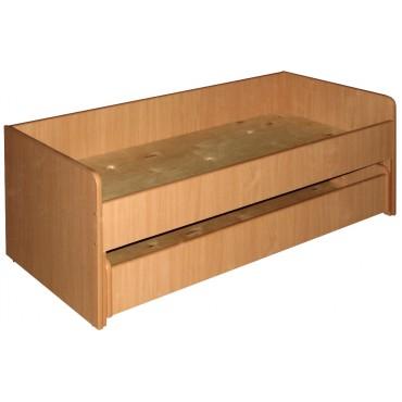 Кровать 2-ярусная выдвижная прямая 1430х656х518мм