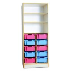 80468 Шкаф для хранения дидактического материала 690х440х1864 мм