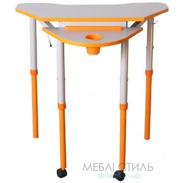 80318 Стол универсальный мобильный с регулировкой высоты и наклона столешницы 700x600хh640-760