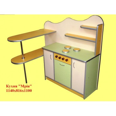 Кухня Мечта 1140х816х1100мм