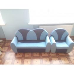 Комплект детский мягкий Мишка (диван, кресло)