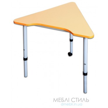 80511 Стол модульный мобильный «Треугольник 60⁰»697x618х640-760