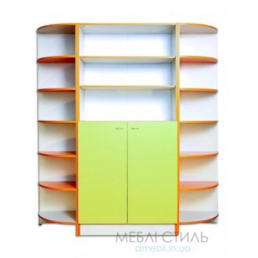 80418 Шкаф для хранения дидактического материала 1680х440х1864 мм