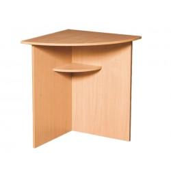 4111 Стол угловой радиусный 600х600х750
