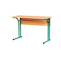 80331 Стол лабораторный химический(без мойки,без розеток, покрытие–пластик) 1200х600х760