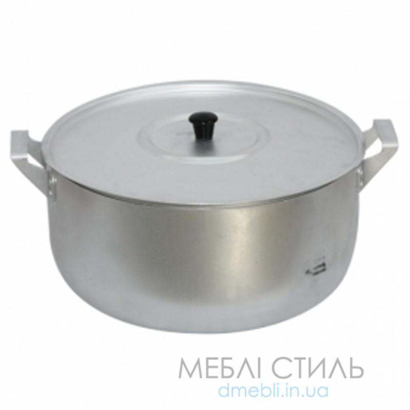 """Кастрюля """"Калитва"""" алюминиевая штампованная 15 л"""