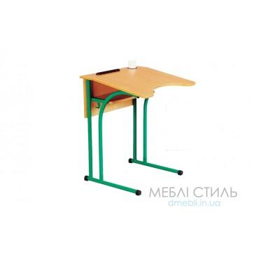 80300 Стол ученический 1-месный антисколиозный 600x545хh580,640,700,760